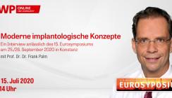 """Heute: Web-Interview """"Moderne implantologische Konzepte"""""""