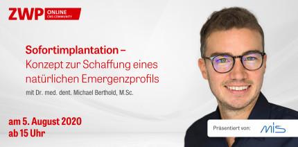 """Am Mittwoch einschalten: Live-OP zum Thema """"Sofortimplantation"""""""