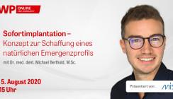 """Morgen einschalten: Live-OP zum Thema """"Sofortimplantation"""""""