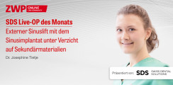1 CME-Punkt: SDS Live-OP mit Dr. Josephine Tietje im Archiv abrufbar