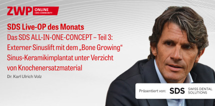 "1 CME-Punkt: Live-OP ""Das SDS ALL-IN-ONE-CONCEPT – Teil 3"" im Archiv"