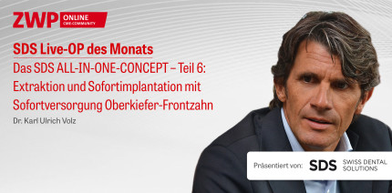 """1 CME-Punkt: Live-OP """"Das SDS ALL-IN-ONE-CONCEPT – Teil 6"""" im Archiv"""
