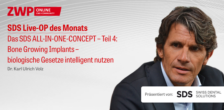 """1 CME-Punkt: Live-OP """"Das SDS ALL-IN-ONE-CONCEPT – Teil 4"""" im Archiv"""