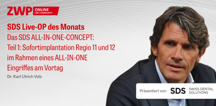 """1 CME-Punkt: Live-OP """"Das SDS ALL-IN-ONE-CONCEPT – Teil 1"""" im Archiv"""
