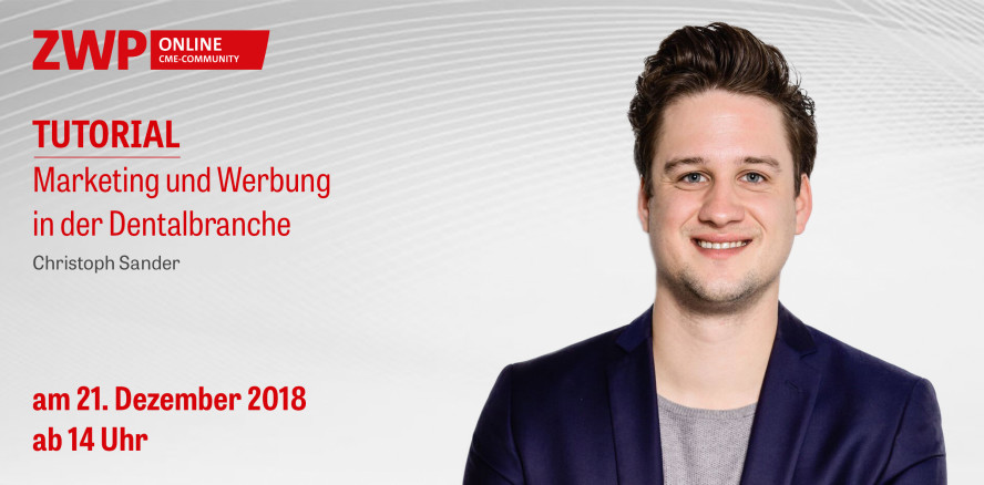Am Freitag ab 14 Uhr: Marketing-Tutorial mit Christoph Sander