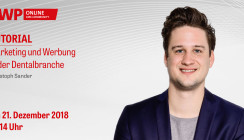 Heute ab 14 Uhr: Marketing-Tutorial mit Christoph Sander