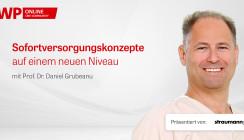 Jetzt im Archiv abrufbar: Straumann Live-Tutorial mit Prof. Dr. Grubeanu