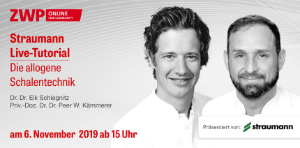 Live-Tutorial zur allogenen Schalentechnik am 6. November