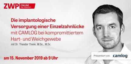 Heute ab 9 Uhr: CAMLOG Live-OP mit Dr. Theodor Thiele