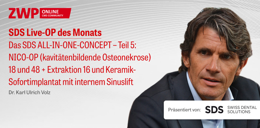 "1 CME-Punkt: Live-OP ""Das SDS ALL-IN-ONE-CONCEPT – Teil 5"" im Archiv"