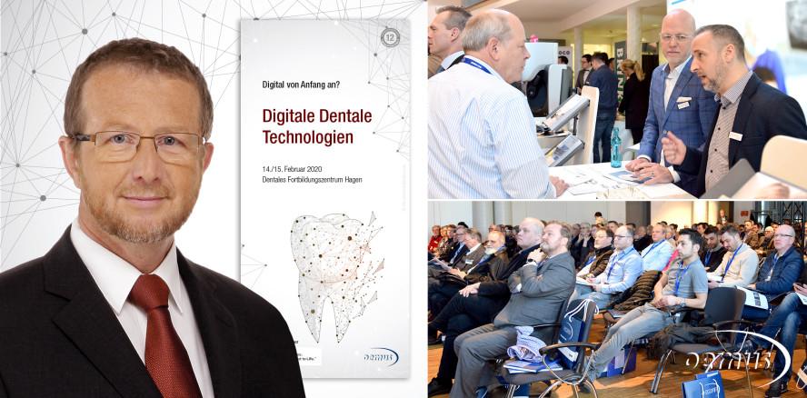 "12. Digitale Dentale Technologien: ""Digital von Anfang an?"""