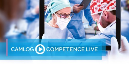 CAMLOG COMPETENCE LIVE 2020 – 100 Prozent online