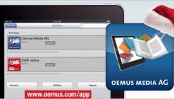 OEMUS MEDIA AG – Verlagsspektrum mit eigener App auch auf dem iPad verfügbar