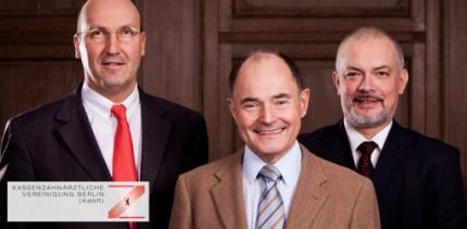 KZV Berlin: Dr. Jörg-Peter Husemann und Dr. Karl-Georg Pochhammer wieder gewählt