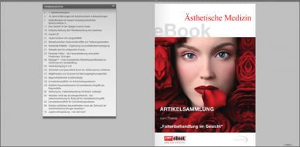 """Neues eBook zum Thema """"Faltenbehandlung im Gesicht"""""""