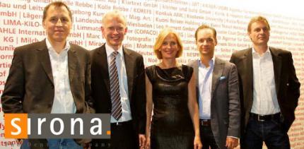 Sirona nimmt iF communication design award entgegen