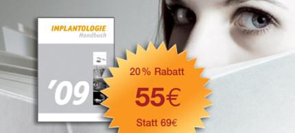 """Handbuch """"Implantologie"""" 2009 mit Hardcover - Noch informativer, noch hochwertiger"""