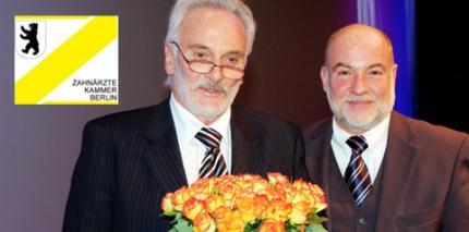 Ewald-Harndt-Medaille 2010 an Zahnarzt Dr. Klaus Felgentreff