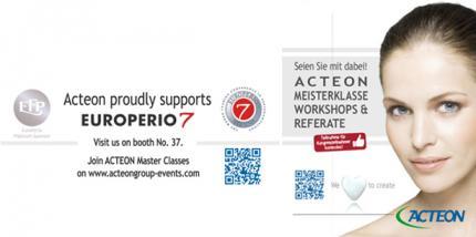 Acteon mit Workshops und Referaten auf der Europerio 7
