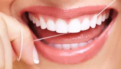 Beim Thema Zahnseide wird gerne geflunkert