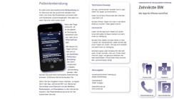 KZV Baden-Württemberg ab sofort mit eigener App
