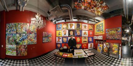 Leipziger Maler lädt zu Advents-Runde in sein Atelier