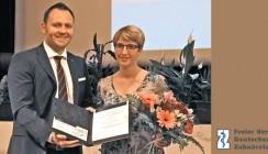 Förderpreis der Stiftung Zahnärztliche Wissenschaften verliehen