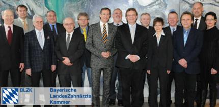 Vorstand der BLZK konstituiert sich