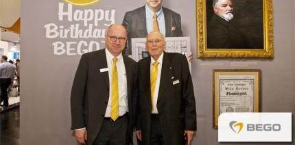 Zukunft seit 125 Jahren und runde Geburtstage bei der BEGO