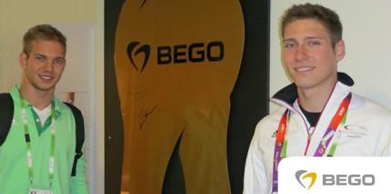 BEGO-Zahn mit ersten Unterschriften für guten Zweck