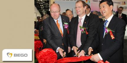 BEGO Chef Christoph Weiss eröffnete SINO Dental in Beijing