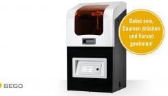 Dabei sein, Daumen drücken, 3D-Drucker gewinnen