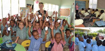 Reise in die Karibik – mit einem Koffer voll Kinderzahnbürsten