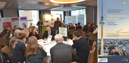 Aus der Praxis für die Praxis: Implantologieforum Berlin 2015