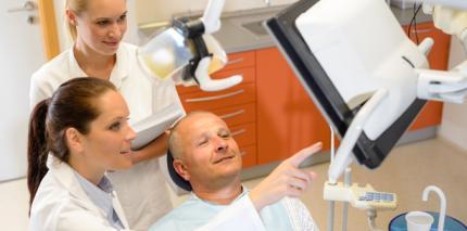 Erfolgreiche Betreuung von Implantatpatienten