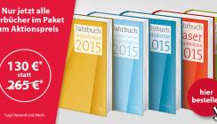 Schnäppchenjäger aufgepasst: Jahrbücher 2015 jetzt zum Sparpreis