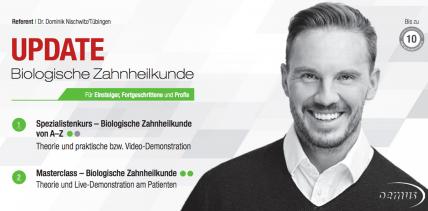 """Auch 2017: Kursreihe """"Biologische Zahnheilkunde"""""""