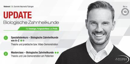 """Auch 2016: Kursreihe """"Biologische Zahnheilkunde"""""""