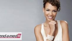 Topmodel-Kandidatin wirbt für weiße Zähne