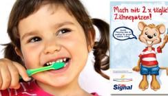 Zahnputz-Motivation für kleine Patienten