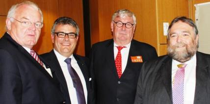 BVD-Präsident Lutz Müller trifft Europaabgeordnete