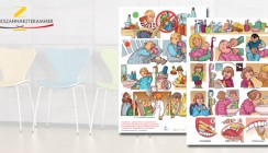 Verständlich ohne Worte: Comic zur Zahnpflege und Mundgesundheit