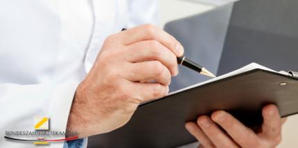 BZÄK-Gutachten bestätigt: GOZ Rechnungsformular rechtswidrig