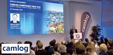 Erfolgreiche CAMLOG COMPETENCE TOUR 2015/16
