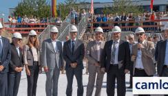 CAMLOG legt symbolischen Grundstein für neues Verwaltungsgebäude
