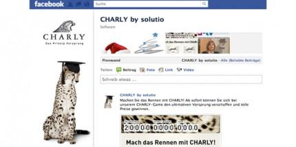 CHARLY by solutio – jetzt auf Facebook