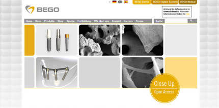 BEGO Implant Systems präsentiert neues Open Access Online Portal