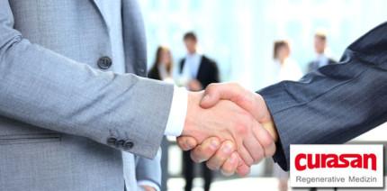 curasan AG: Erweiterung der Vertriebskooperation im Orthopädiemarkt