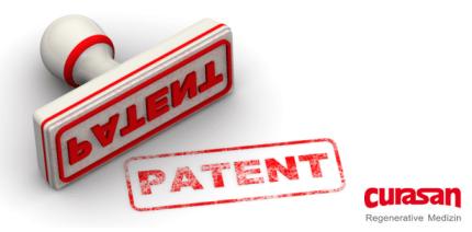 curasan AG: Weitere Patenterteilung in den USA