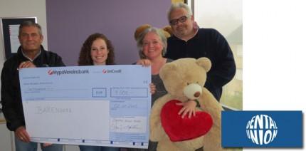 Dental-Union spendet € 4.000 an die Bärenherzstiftung
